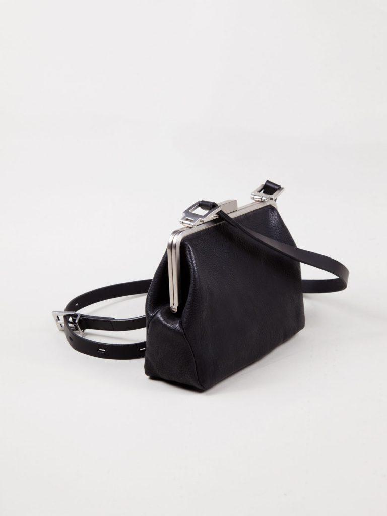 Medium Frame Negro Bag Fox Calvert Crossbody Bq6WHwW84